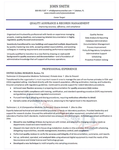 It Professional Resumes by Records Clerk Resume Sle Template Design