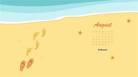 august  calendar wallpaper  desktop background