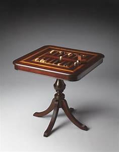 Chess, U0026, Backgammon, Table, Handcrafted, New, Free, Shipping