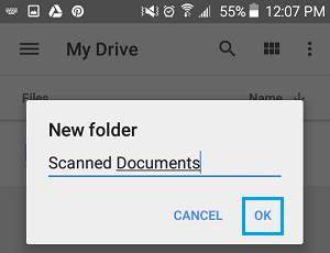 how to scan documents with your android phone With documents folder android
