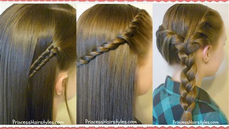 easy   school hairstyles youtube
