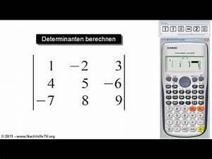 Determinante Berechnen 2x2 : berechnung einer determinante doovi ~ Themetempest.com Abrechnung
