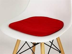 Coussin De Chaises : coussin de chaise charles et ray eames fauteuil designer ~ Teatrodelosmanantiales.com Idées de Décoration