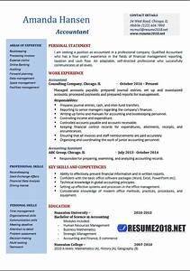 accountant resume examples 2018 resume 2018 With downloadable resume templates 2018