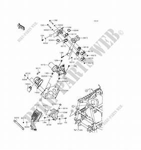 Steering Column For Kawasaki Brute Force 750 4x4i Eps 2017