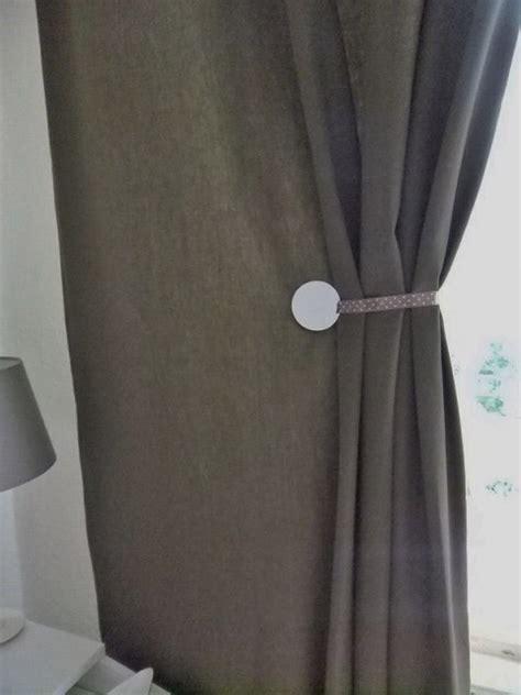 spontan magnets curtains tie backs ikea hackers