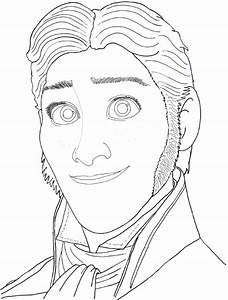 How to Draw Prince Hans from Frozen with Easy Step by Step ...