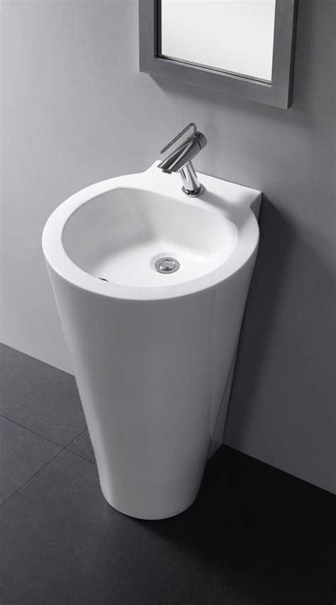 contemporary bathroom pedestal sinks modern pedestal sink durazza
