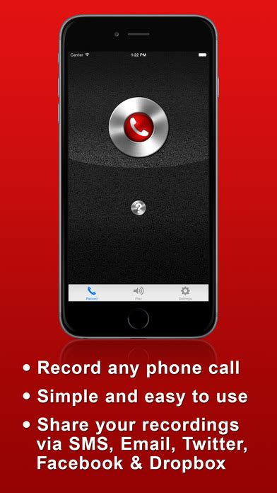 iphone call recorder app call recorder free record phone calls for iphone screenshot