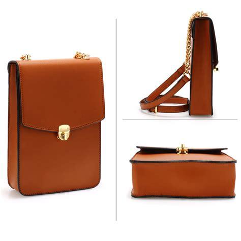 ag00586 brown canvas cross bag school messenger shoulder bag