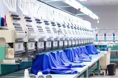 Embroidery Machine Commercial Apparel Garment Manufacturing Process