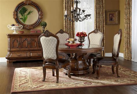 tuscano melange  table dining room collection  aico