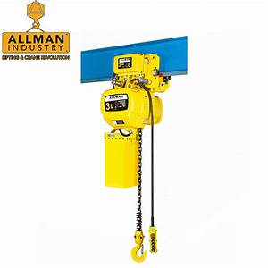 China 3 Ton Electric Chain Hoist Suppliers And