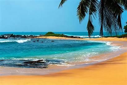 Tropical Beach Landscape Desktop Wallpapers Backgrounds Mobile