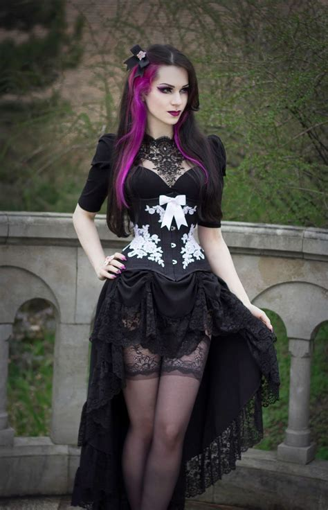 gothic model milena grbovic gothic more gothic