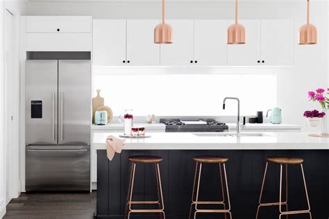 Blooming Kitchen Black Cabinets with Svarta Luckor