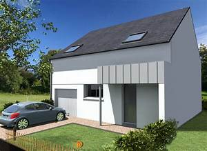 Porche Entrée Maison : maison avec porche zinc maisons cr ation ~ Premium-room.com Idées de Décoration