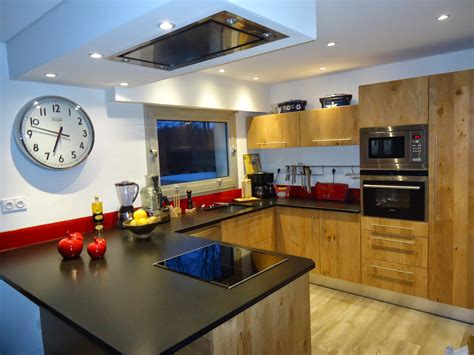 d馗oration de cuisine moderne michel le coz agencement décoration cuisine moderne bois