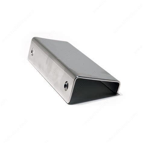 richelieu cabinet hardware canada contemporary steel edge pull 576 richelieu hardware