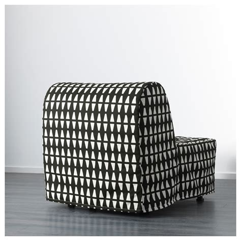 Lycksele Chair Bed Cover Pattern by Lycksele H 197 Vet Chair Bed Ebbarp Black White Ikea
