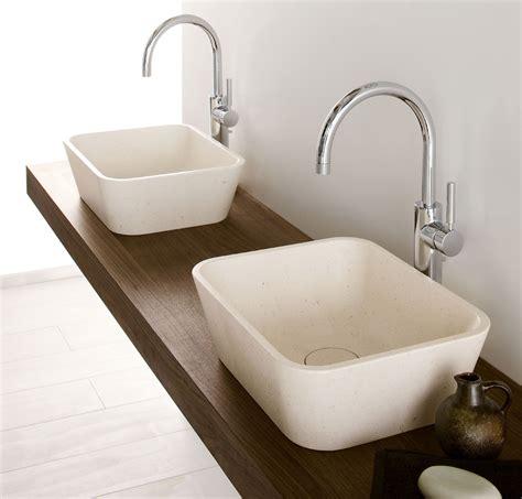 mensola per lavabo vasca lavabo e doccia in pietra la collezione duo di