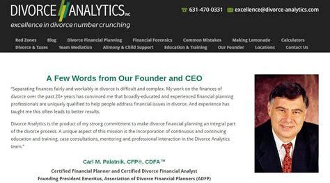New Wordpress Website For Nyc Metro Area Divorce Financial Planner