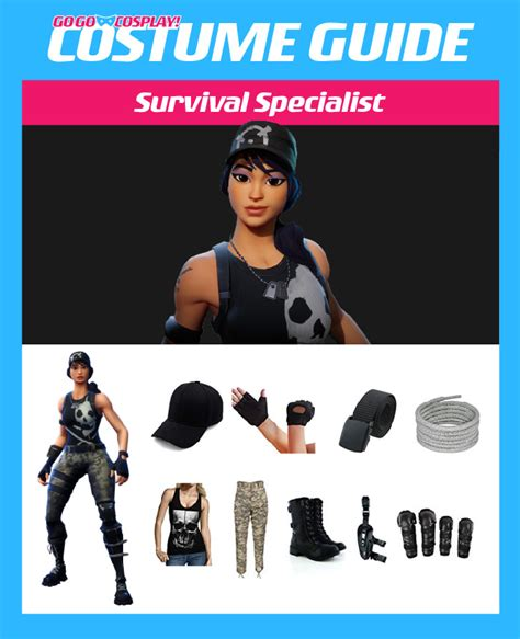 survival specialist costume  fortnite diy guide