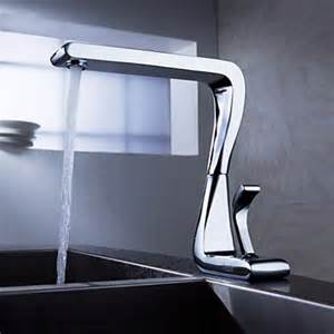 faucets for kitchen contemporary solid brass kitchen tap chrome finish n2096