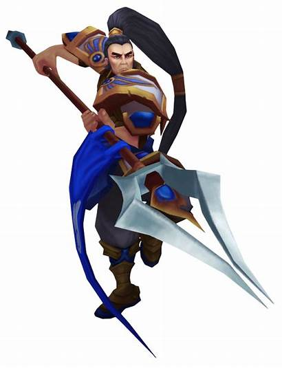 Xin Zhao Render Legends League Tft Wikia