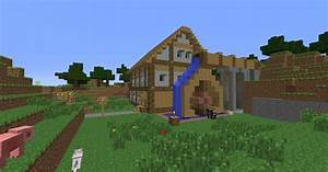 Minecraft Farm House/Water mill Minecraft Project