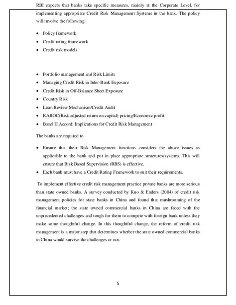 thesis on credit risk assessment