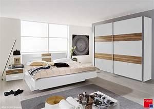 Schlafzimmer Komplett Weiß : bellissa komplett schlafzimmer ii 160 x 200 181 cm grau ~ Orissabook.com Haus und Dekorationen