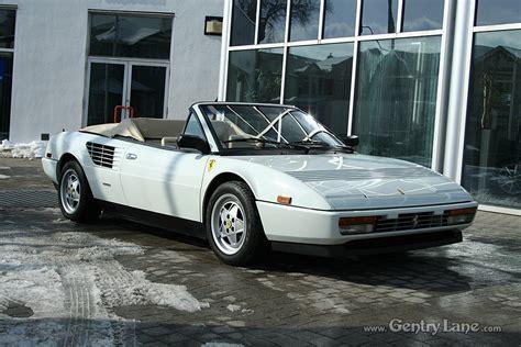 1988 mondial cabriolet specs 1988 mondial