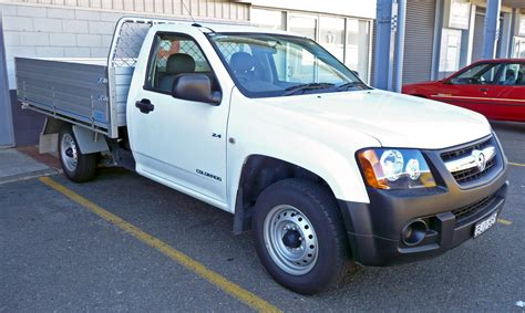 File2008 2009 Holden Rc Colorado Dx 2 Door Cab Chassis 01