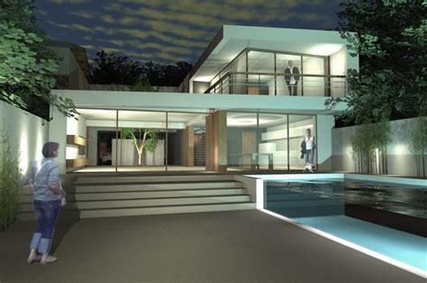 un cour de cuisine maison de ville avec piscine sur bordeaux ha 11 architecte