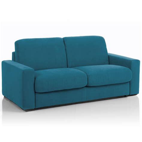 canapé tissu déhoussable canapé convertible 3 places maxi tissu déhoussable bleu