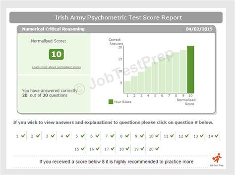 irish army psychometric tests jobtestprep