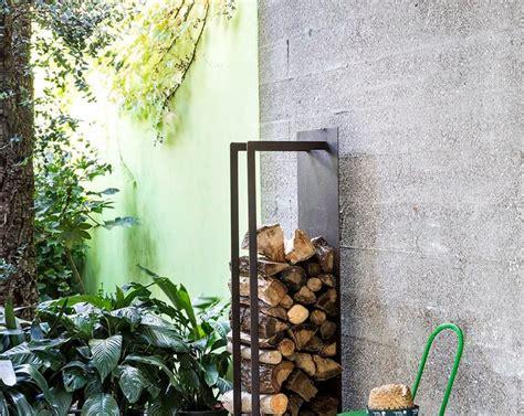 il giardino di corten eracle e cuori i porta legna proposti da il giardino di