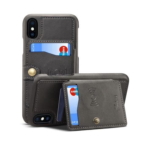 We've rounded up the best iphone 8 wallet cases to help you cut down on space and up the convenience. Slim Leather Wallet Case Credit Card Holder Back Cover For ...