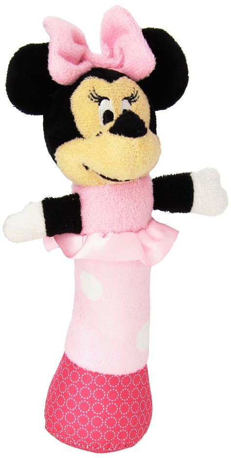 disney baby mickey mouse plush stick rattle 7 quot mickey mouse baby