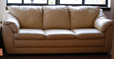beige leather sofas kristyna beige leather sofa steal a