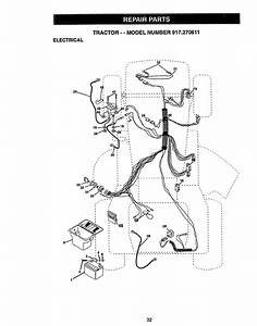Craftsman 917270611 User Manual Tractor Manuals And Guides