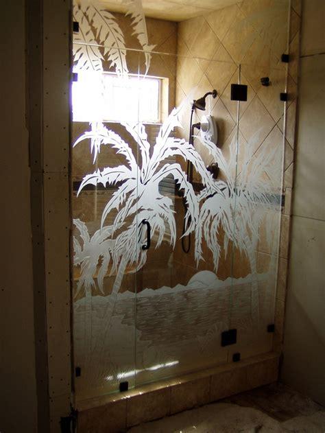 allgood shower door etched glass door shower door