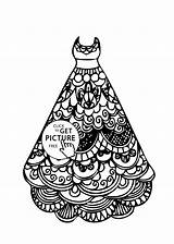 Coloring Pages Printable Lace Dresses Gown Colouring Library Clipart Chair Mother Choose Right Popular Drawings 52kb 1483 Coloringhome sketch template