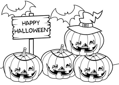 Top 10 Halloween Coloring Pages For Kids To Consider This
