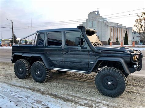 2018 Mercedes-benz G 63 Amg 6x6 Suv, Conversion Of Any G