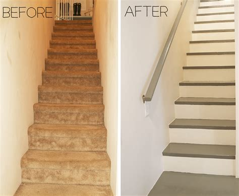 carpeted stairs  painted stratton