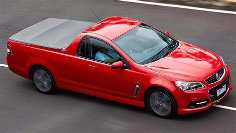 holden car truck 2015 holden ute sv6 review carsguide