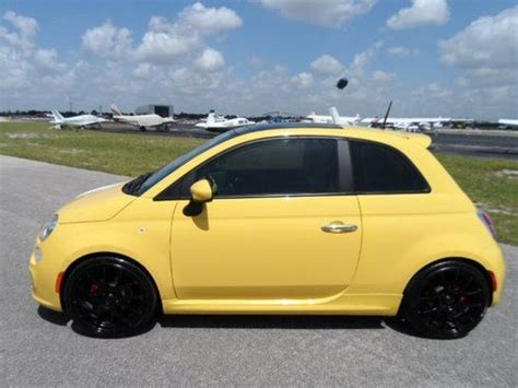 Fiat 500 Manhattan by Sell Used 2013 Fiat 500 Pop White W Soft Top