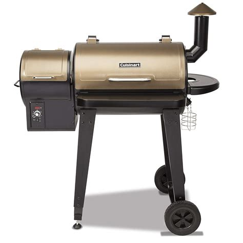 cuisinart cpg  wood pellet grill smoker review